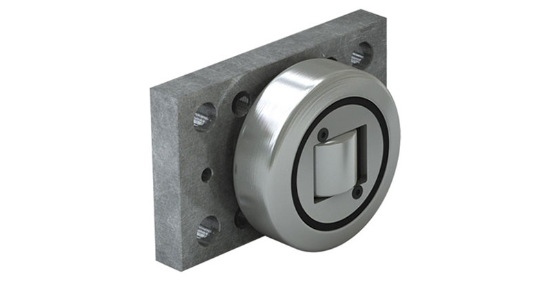 Axial Bearings With Welded Flange Plate