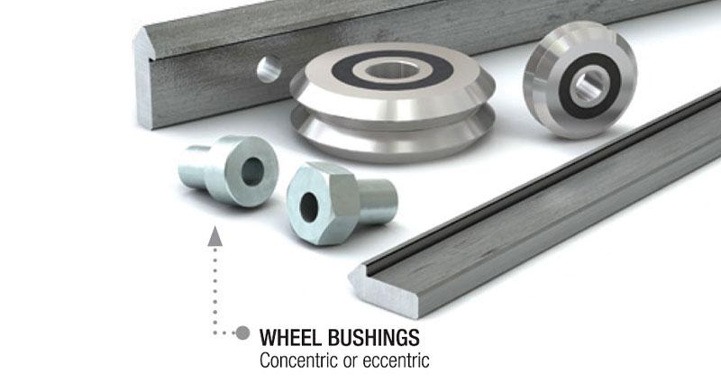 Wheel Bushings adjustable or fixed