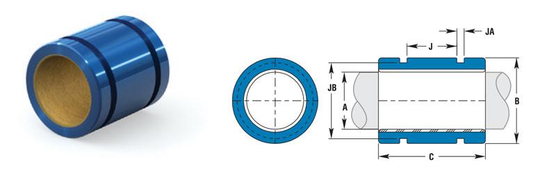 SIMPLICITY® compact thin-wall plain bearings FMT