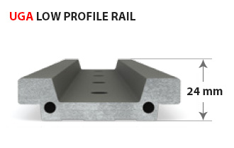 UGA low profile for tight spaces
