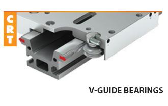V-Wheel roller bearings (CRT)