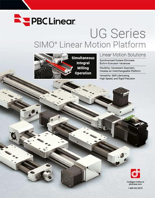 Product Catalog SIMO-Series Linear Motion Platform